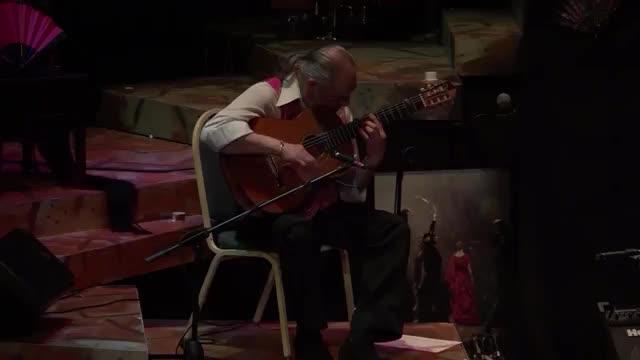 René Heredia plays Moorish Influenced Flamenco Guitar