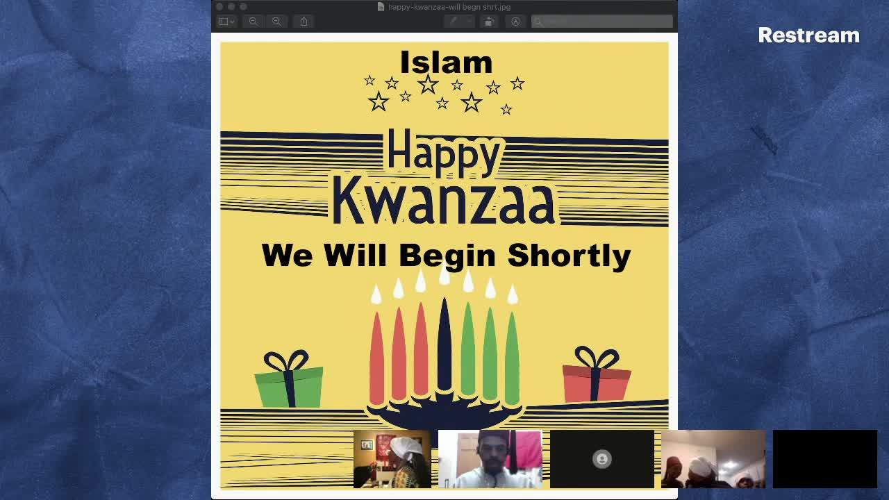 Kwanzaa A Moorish perspective 26-Dec-2020