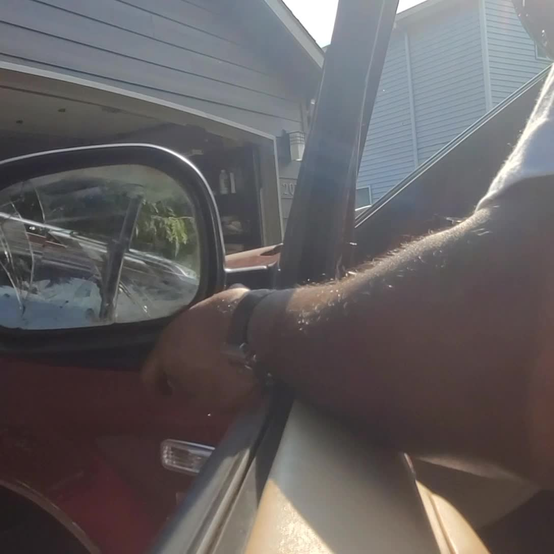 ML 320 Changing Driver Mirror